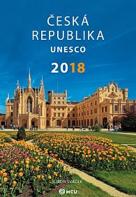 Kalendář nástěnný 2018 - ČR UNESCO/střední formát