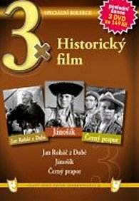 3x DVD - Historický film