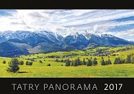 Kalendář nástěnný 2017 - Tatry/panoráma
