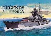 Kalendář 2011 - Legends of the Sea - nástěnný