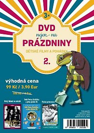 DVD nejen na Prázdniny 2. - Dětské filmy a pohádky - 3 DVD
