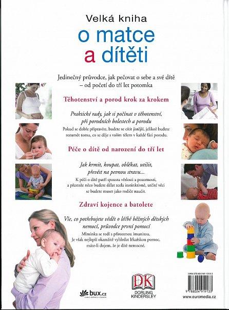 Náhled Velká kniha o matce a dítěti