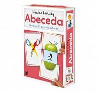 Naučné kartičky: Abeceda (Obsahuje 30 posuvných karet)