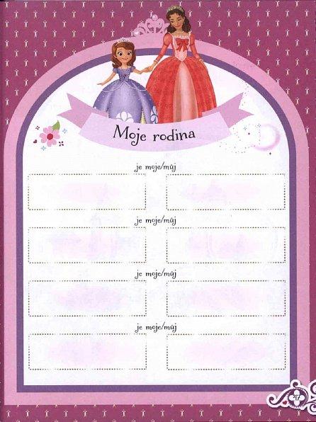 Náhled Sofie První - Můj zápisník