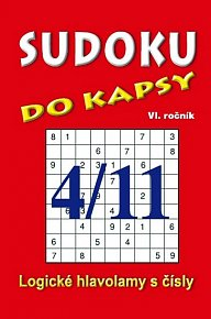 Sudoku do kapsy 4/2011 (červená)