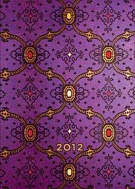 Diář French Violet 2012