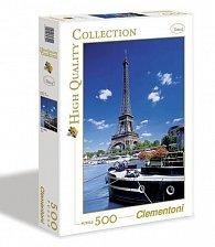 Puzzle 500 dílků Paříž Eifellova věž