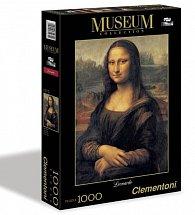 Puzzle Museum 1500 dílků Leonardo-Mona Lisa
