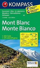 Mont Blanc,Monte Bianco 85 / 1:50T NKOM