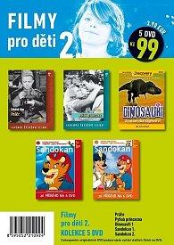 Filmy pro děti 2. - 5 DVD pošetka