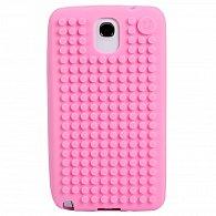 Samsung S4 Pixel Case růžová