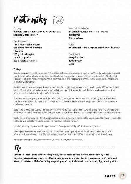 Náhled Bez lepku - sladké i slané recepty z Bezlepkové cukrárny