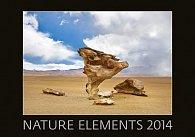 Kalendář 2014 - Nature Elements - nástěnný