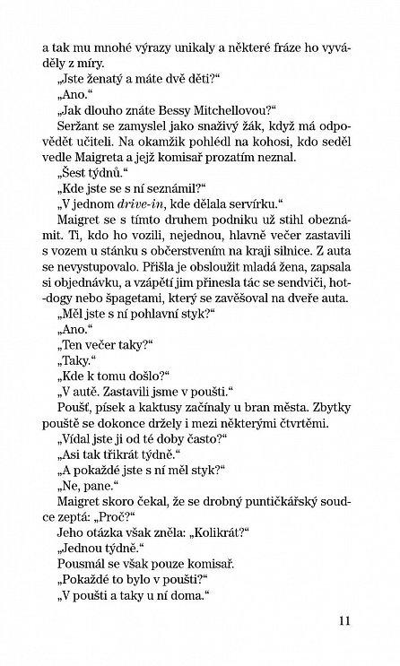 Náhled Maigret u koronera, Maigretovy paměti