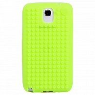 Samsung Note3 Pixel Case jablečná zelená