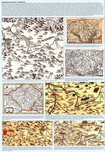 Náhled Staré mapy středního Polabí