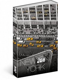 Diář 2016 - New York - Jakub Kasl,  10,5 x 15,8 cm (GB, DE, FR, IT, ES, NL)