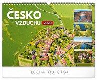 Kalendář nástěnný 2020 - Česko ze vzduchu, 48 × 33 cm