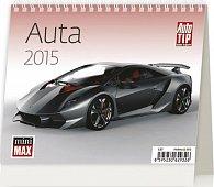 Kalendář stolní 2015 - MiniMax Auta
