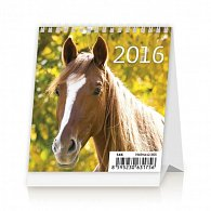 Kalendář stolní 2016 - Mini Horses