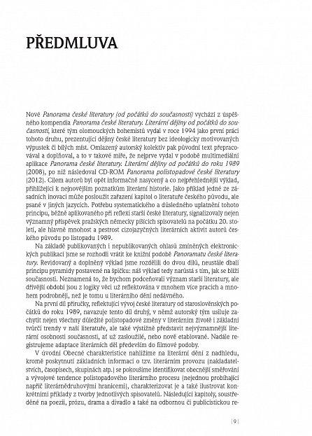 Náhled Panorama české literatury 2 (po roce 1989)