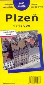 PM Plzeň   1:15 000  plán měst
