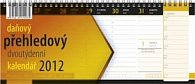 Kalendář 2012 - Daňový přehledový, stolní