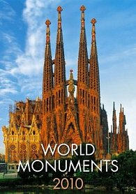 World Monuments 2010 - nástěnný kalendář