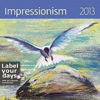 Kalendář nástěnný 2013 - Impressionism