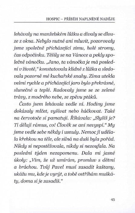 Náhled Hospic - Příběh naplněné naděje