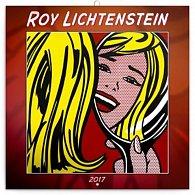 Kalendář poznámkový 2017 - Roy Lichtenstein