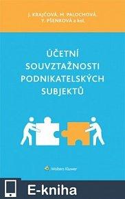 Účetní souvztažnosti podnikatelských subjektů (E-KNIHA)