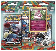 POKÉMON:  XY3 Furious Fists  - 3 Pack Blister 1/24)