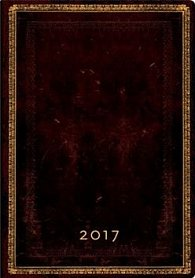 Diář Black Moroccan 2017 VER