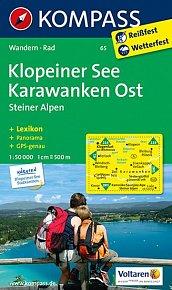 Klopeiner See Karawanken 65   NKOM 1:50T