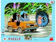 Krtek a autíčko - Puzzle 12 tvary