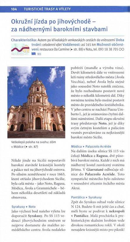 Náhled Merian - Sicílie a Liparské ostrovy (defektní výtisk)