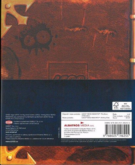 Náhled LEGO® NEXO KNIGHTS™ Kniha příšer