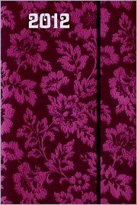 Diář 2012 magnetický - Violet