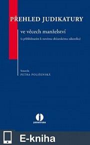 Přehled judikatury ve věcech manželství (s přihlédnutím k novému občanskému zákoníku) (E-KNIHA)
