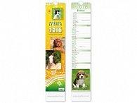 Zvířata 2016 - nástěnný kalendář