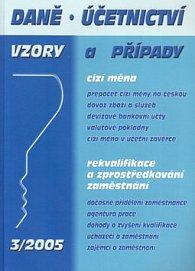 Daně, účetnictví 03/2005