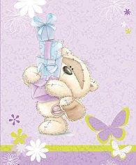 Malá fialová taška s Fizzy Moonem