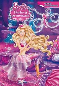Barbie Perlová princezná Kniha so samolepkami