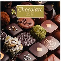 Kalendář nástěnný 2016 - Čokoláda - voňavý, poznámkový  30 x 30 cm