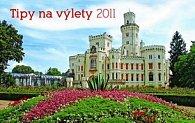 Kalendář 2011 - Tipy na výlety (23,1x14,5) stolní