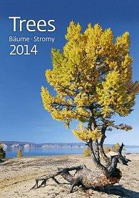 Kalendář 2014 - Stromy - nástěnný