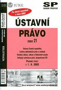 Ústavní právo právní stav k 1.9.2002