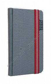 Diář 2015 - Janus šedý kapesní