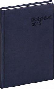 Diář 2013 - Tucson-Vivella - Týdenní B5, tmavě modrá, 17,5 x 24,5 cm